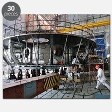 Beloyarsk nuclear reactor construction Puzzle