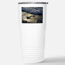 Black volcanic sands Stainless Steel Travel Mug