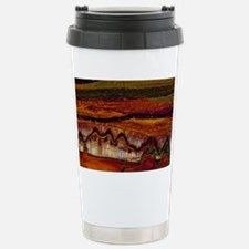 Banded iron formation Stainless Steel Travel Mug