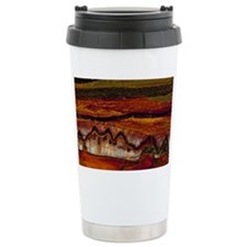 Banded iron formation Travel Coffee Mug