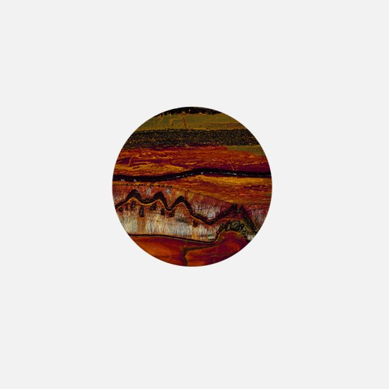 Banded iron formation Mini Button