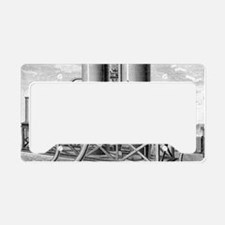 Balloon gas generation, 19th  License Plate Holder
