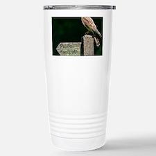 Common kestrel Stainless Steel Travel Mug
