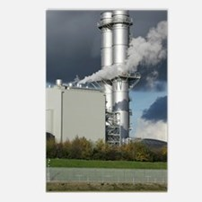 Combined cycle gas turbin Postcards (Package of 8)