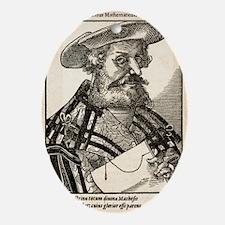 Claudius Ptolemaeus, Greek astronome Oval Ornament