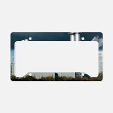 Combined cycle gas turbine po License Plate Holder