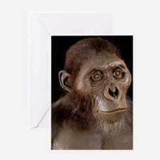 Australopithecus afarensis Greeting Card