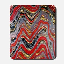 Banded iron formation Mousepad
