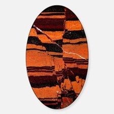 Banded iron formation Sticker (Oval)