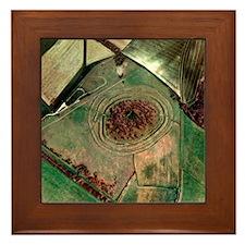 Badbury Rings Framed Tile