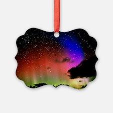 Aurora Borealis display with clou Ornament