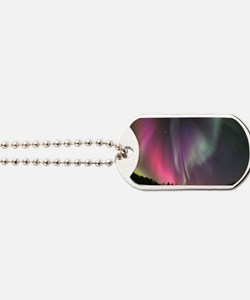 Aurora borealis Dog Tags