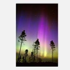 Aurora borealis Postcards (Package of 8)