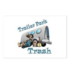 Trailer Park Trash Design Postcards (Package of 8)