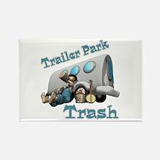 Trailer Park Trash Design Rectangle Magnet