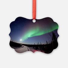Aurora borealis in Alaska Ornament