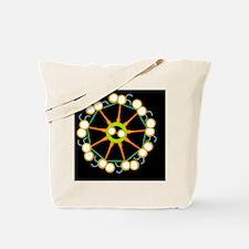 Cilium and flagellum structure, artwork Tote Bag