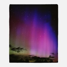 Aurora borealis, Finland Throw Blanket