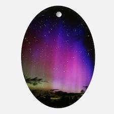 Aurora borealis, Finland Oval Ornament