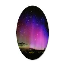 Aurora borealis, Finland 35x21 Oval Wall Decal