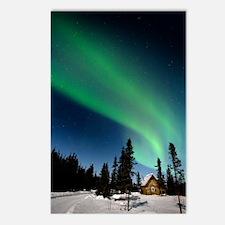 Aurora borealis in Alaska Postcards (Package of 8)