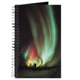 Aurora borealis Journals & Spiral Notebooks