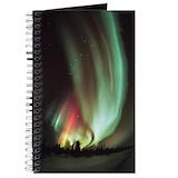 Aurora borealis Journals & Spiral Notebooks