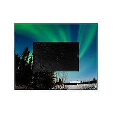 Aurora borealis in Alaska Picture Frame