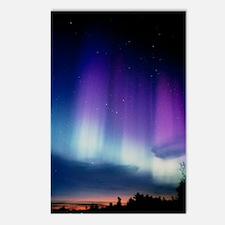 Aurora borealis Postcards (Package of 8)