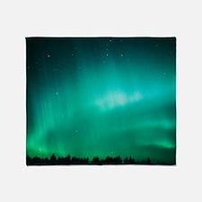 Aurora Borealis (Northern Lights) se Throw Blanket