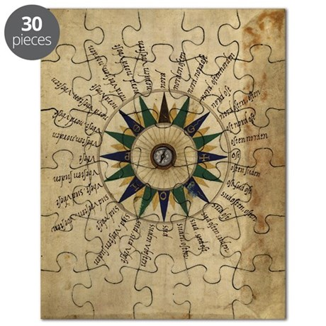Atlas compass, 16th century Puzzle
