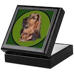 Exquisite Bloodhound Keepsake Box