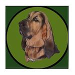 Exquisite Bloodhound Tile Coaster