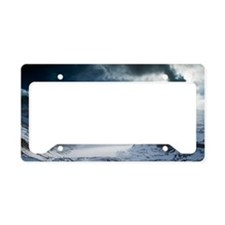 Athabasca Glacier, Canada License Plate Holder