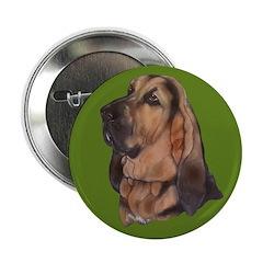 Exquisite Bloodhound Button