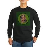 Exquisite Bloodhound Long Sleeve Dark T-Shirt