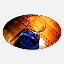 Chemistry flask Sticker (Oval)