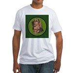 Exquisite Bloodhound Fitted T-Shirt