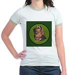 Exquisite Bloodhound Jr. Ringer T-Shirt