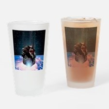 Asteroid impact Drinking Glass