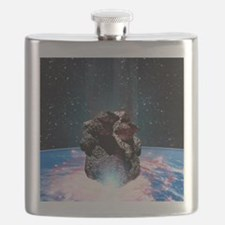 Asteroid impact Flask