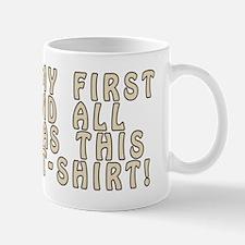 My 1st ASBO! Mug