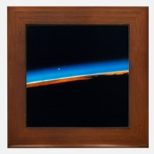 Atmosphere and airglow seen from Shutt Framed Tile