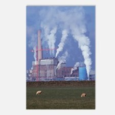 Atmospheric pollution Postcards (Package of 8)