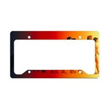 Artwork of the stages in huma License Plate Holder