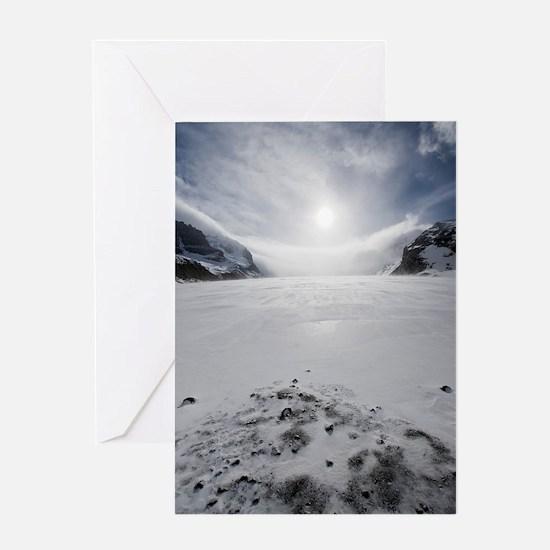 Athabasca Glacier, Canada Greeting Card