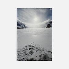 Athabasca Glacier, Canada Rectangle Magnet