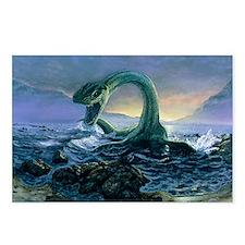Artwork of Elasmosaurus,  Postcards (Package of 8)
