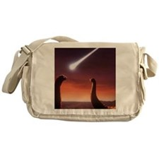 Artists impression of a pair of gian Messenger Bag