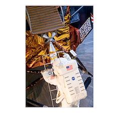 Astronaut descending Luna Postcards (Package of 8)
